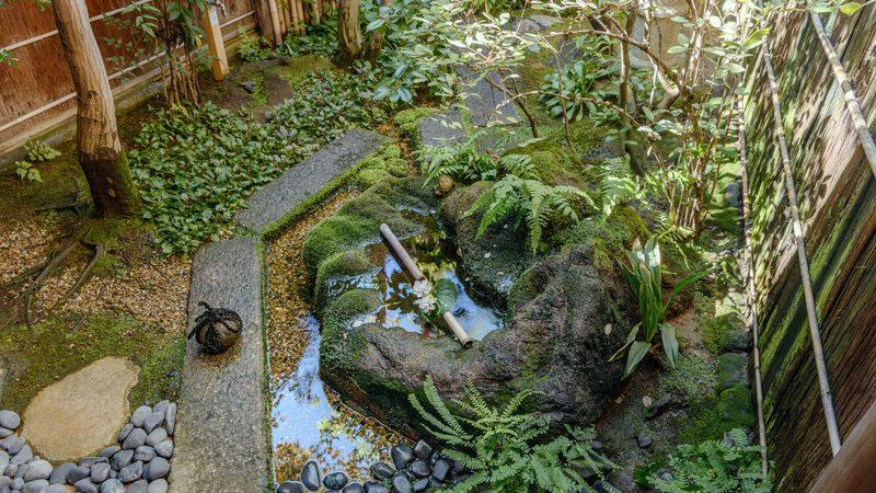 จัดสวนญี่ปุ่น ข้างบ้าน