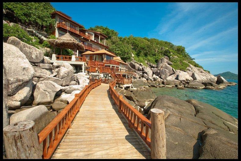 ที่พักสวยติดทะเล