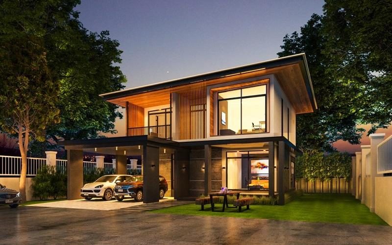 การสร้าง รูปแบบบ้าน