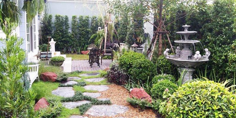 สวนสวยอังกฤษจัดเอง